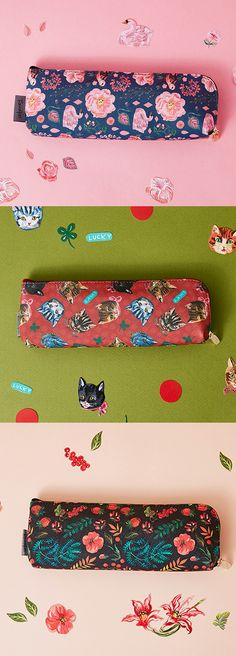 Gorgeous Nathalie Lete patterns, a sturdy design, and spacious interior make for a must-have organization tool. The Nathalie Lete Pen Case is cute, colorful, and the best way to keep your pencils, stationery, and planner accessories neat & tidy.