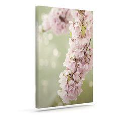"Catherine McDonald ""Cherry Blossom"" Outdoor Canvas Wall Art"