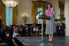 In celebration of dance, which plays a major role in African American culture, The White House hosted a Master Class introducing dance/exercise to some, whil...