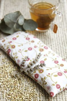 relax and unwind with the diy buckwheat and lavender eye pillow