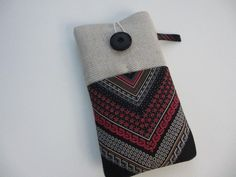 Xperia pouch,iPhone 6s plus cover,iPhone 6 plus,Galaxy S6 plus sleeve,Galaxy 4 note ,silk gift, Galaxy Edge cover,Linen and silk phone case by UniquecasesUK on Etsy
