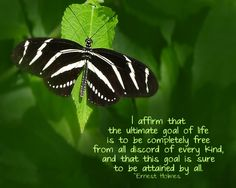 New Thought Affirmation from Ernest Holmes