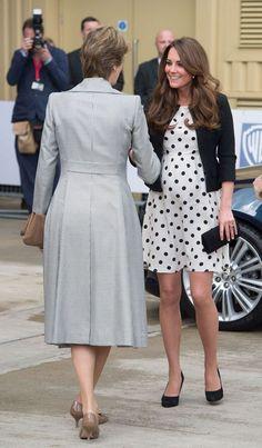 Vestidos para convidadas grávidas inspirados em Kate Middleton. #casamento #convidadas #vestidos #grávidas