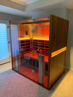 Clearlight Sanctuary 3 Person Full-Spectrum Infrared Sauna With Chromotherapy Sleeping A Lot, Pool Care, Chromotherapy, Detox Program, Infrared Sauna, Bathroom Spa, Home Spa, Pool Landscaping, Architecture Design