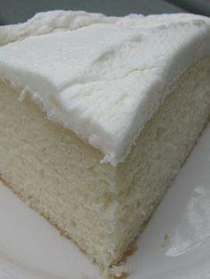 Favorite White Cake recipe
