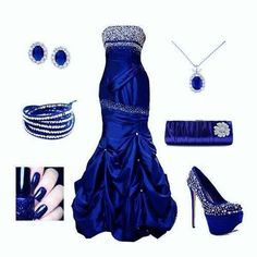 Harry Potter Ravenclaw Themed Dress, Jewelry, Nails And Accessories