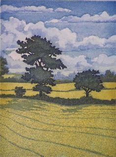Print maker Laurie Rudling.B-sides