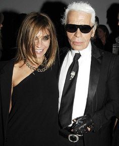 Karl Lagerfeld teams up with Carine Roitfeld - Telegraph