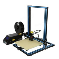 Creality DIY Printer Kit Printing Size With Z-axis Dual T Screw Rod Motor Filament Detector Nozzle 3d Printer Kit, 3d Printer Supplies, Diy Desktop, 3d Design Software, Copper Wood, Diy 3d, Prusa I3, 3d Max, Diy Kits
