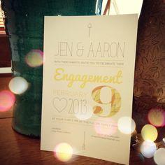 My engagement invite :)