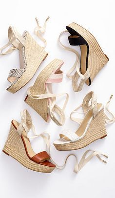 Honeymoon Espadrilles.... one for each day of your holiday?