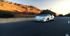 De Lamborghini Countach is ongetwijfeld één van de meest tot de verbeelding sprekende supercars.