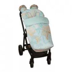 Saco de invierno impermeable para carrito Mapamundi color aguamarina Baby Strollers, Children, Raincoat, Sacks, Winter, Colors, Bebe, Baby Prams, Boys