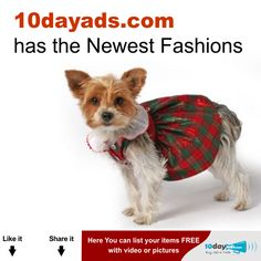 10dayads.com has the newest Fashions  #Fashions #Freeonlineadvertising #Advertiseforfree #Localclassifiedads #PostFreeClassifiedAds