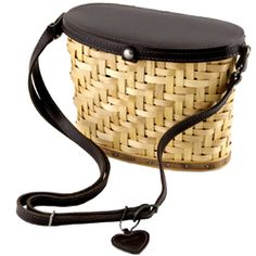 Longaberger Collectors Club Heartwood Binocular basket.
