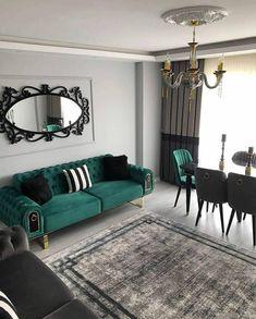Corner Sofa Living Room, Home Living Room, Living Room Decor, Bedroom Decor, Bedroom Cupboard Designs, Bedroom Closet Design, Living Room Designs, Mediterranean Home Decor, Home Design Decor