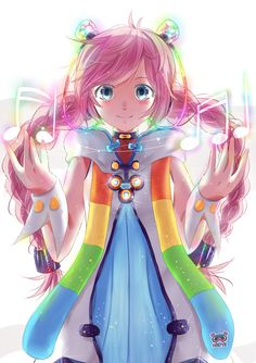 Rana. A very underrated Vocaloid, her voice and her appearance are both amazing!!