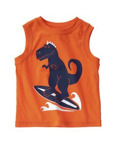 Dino Surfer Tank at Crazy 8