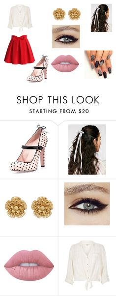 """""""fhfd"""" by barbie-cristini on Polyvore featuring RED Valentino, Free People, Miriam Haskell, Lime Crime, River Island, Chicwish, men's fashion e menswear"""