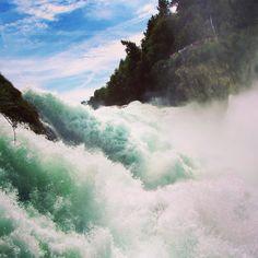 rein falls #waterfalls #nature