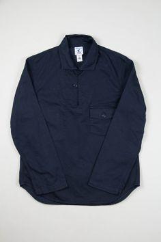 cca3157e756 Arpenteur Navy Roscoff Over Shirt