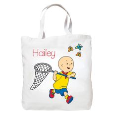 Caillou Adventure Tote Bag from PBS Kids Shop