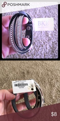 NWT BKE wrap bracelet NWT BKE adjustable wrap bracelet BKE Jewelry Bracelets