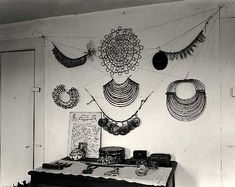 Alexander Calder : jewelry he made for his wife : I saw some of it in Seattle last year : true love