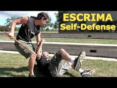 ESCRIMA Self Defense for the STREETS! Be creative in your training to learn to be adaptable to any situation. Advance your Kali skills to the next level with. Self Defense Tips, Self Defense Techniques, Stick Fight, Bo Staff, Art Of Fighting, Tactical Training, Martial Arts Techniques, Martial Arts Training, Street Fights