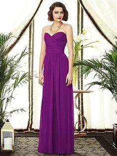 Sweetheart Chiffon Pleated Bridesmaid Dress - Didobridal