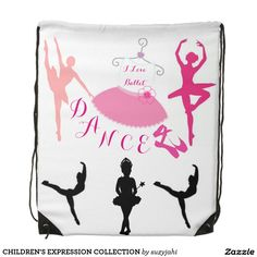 CHILDREN'S EXPRESSION COLLECTION ~ GIRLS BALLET BAG