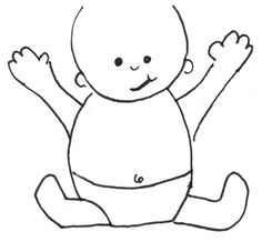 Explore collection of Baby Outline Drawing Cat Outline, Outline Drawings, Cartoon Drawings, Drawing Legs, Baby Drawing, Drawing Lessons For Kids, Drawing Tutorials For Kids, Kawaii Chibi, Anime Chibi