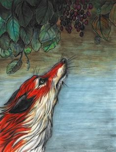The Fox and the Grapes - Anya McNaughton