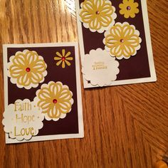 Heidi 's first cards