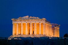 The Parthenon at the Acropolis in Athens, Greece (amazing to have visited such an ancient site. Places Around The World, Oh The Places You'll Go, Travel Around The World, Places To Travel, Places To Visit, Around The Worlds, Acropolis Greece, Athens Greece, Parthenon Athens