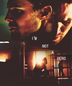 """I'm not a hero"" --Oliver Queen #Arrow"