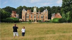 Blicking Estate: Bickling, Norwich. England. The estate is a treasure trove of romantic buildings, beautiful gardens and landscaped park. See the stunning parterre created by socialite Norah Lindsay in the 1930s, or find peace and solitude in the orangery garden or woodland wildernesses.