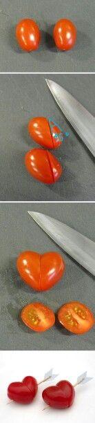 Heart tomatoes