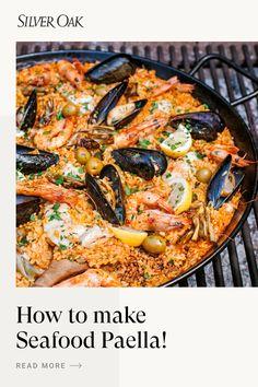 Fish Recipes, Seafood Recipes, Mexican Food Recipes, Dinner Recipes, Cooking Recipes, Healthy Recipes, Seafood Paella, Seafood Dinner, Paella Party