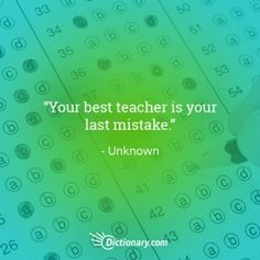 11 Quotes About Learning From Your Mistakes