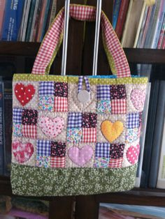 Hearted bag