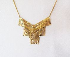 Gold  Necklace Gold  Jewelry Necklace Statement by aynurdereli, $32.00