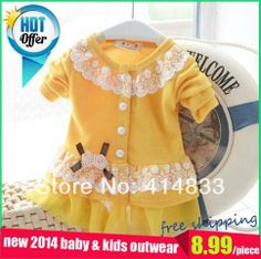 So lovely~I should buy one for my daughter~New 2014 spring and autumn jaquetas infantis coats and jackets for children floral decoration baby clothing girls jackets kids ~ Baby Outfits, Cool Outfits, Baby Girl Princess, Kids Coats, Cute Baby Clothes, New Kids, Beautiful Children, To My Daughter, Girl Fashion