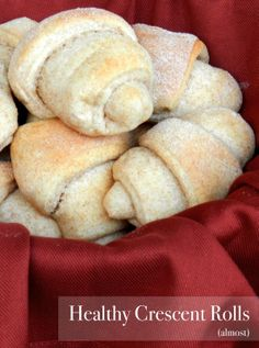 Healthy (and DELICIOUS) Crescent Rolls