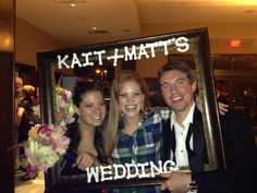 Fun Wedding reception idea.. the traveling picture frame.. how to make one!