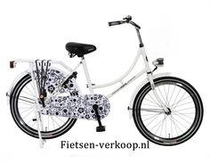 Omafiets Wit Barok 20 Inch | bestel gemakkelijk online op Fietsen-verkoop.nl