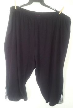 Big is beautiful! And in these capris it's also comfortable! Bid now before they're gone!  Woman+Within+Capri+Cropped+Pants+Shorts+Women+Super+Plus+Sz++5x6x7x+34/36/38/40