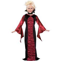 Vampire Costumes For Kids - Gothic Vampire Child Costume