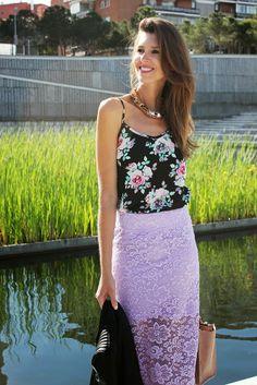 Ibiza Rocks Me by Ana Vide: Midi falda de crochet