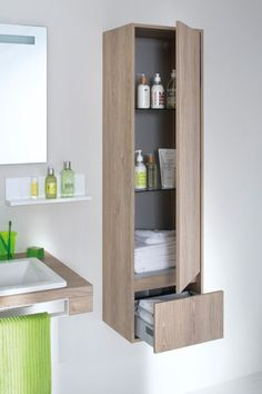 Le bon mobilier pour une petite salle de bains Bathroom Design Inspiration, Bathroom Interior Design, Home Decor Inspiration, Modern Bathroom, Small Bathroom, Living Room Wall Designs, Childrens Bathroom, Bathroom Storage Solutions, Bedroom Bed Design